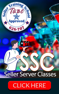 TABC approved Alcohol Seller Server Training Course